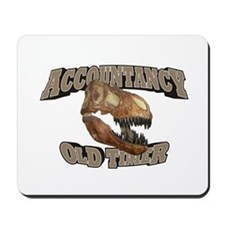 Accountancy Old Timer Mousepad