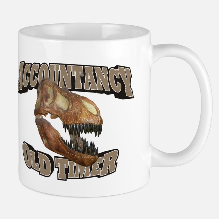 Accountancy Old Timer Mug