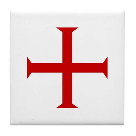 Knights Templar Tile Coaster