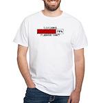 Loading - Please Wait White T-Shirt