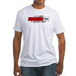 Loading - Please Wait Fitted T-Shirt