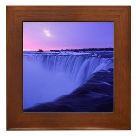 Niagara Sunrise Framed Tile
