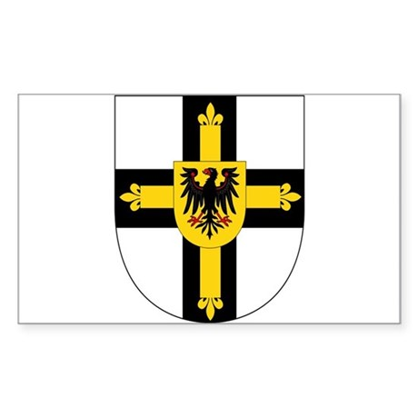 Teutonic Knights Sticker (Rectangle)