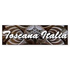 Toscana Bumper Bumper Sticker