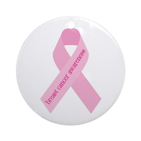 Awareness Ribbon Ornament (Round)