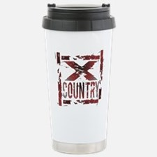 Cross Country Stainless Steel Travel Mug
