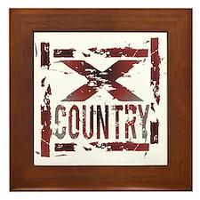 Cross Country Framed Tile