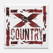 Cross Country Tile Coaster