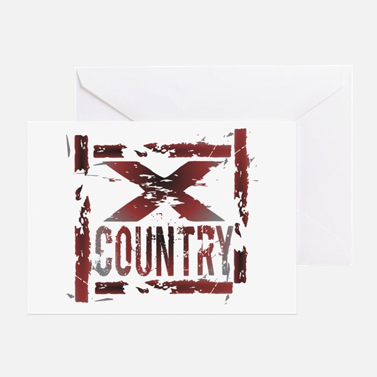 Cross Country Greeting Card