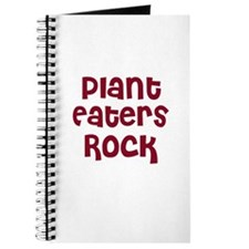 Plant Eaters Rock Journal