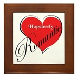 Hopelessly Romantic Framed Tile