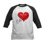 Hopelessly Romantic Kids Baseball Jersey