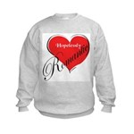 Hopelessly Romantic Kids Sweatshirt