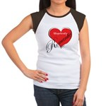 Hopelessly Romantic Women's Cap Sleeve T-Shirt