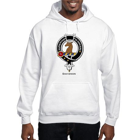 Davidson Clan Crest Badge Hooded Sweatshirt