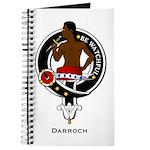 Darroch Clan Crest Badge Journal