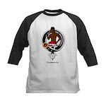 Darroch Clan Crest Badge Kids Baseball Jersey