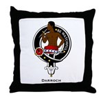 Darroch Clan Crest Badge Throw Pillow