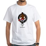 Darroch Clan Crest Badge White T-Shirt