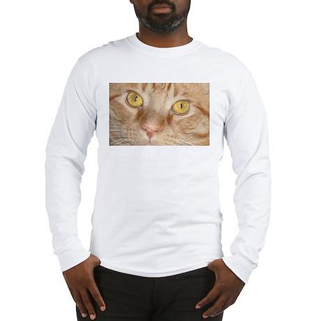 Orange Tabby Cat Long Sleeve T-Shirt