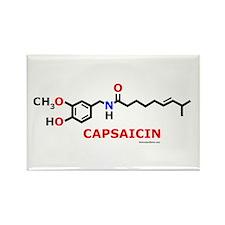 Molecularshirts.com Capsaicin Rectangle Magnet