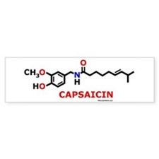 Molecularshirts.com Capsaicin Bumper Sticker