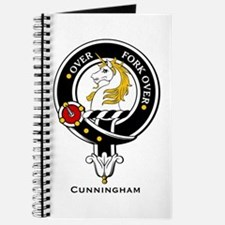 Cunningham Clan Crest Badge Journal