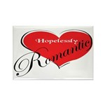 Hopelessly Romantic Rectangle Magnet