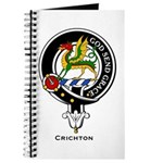 Crighton Clan Crest Badge Journal