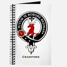 Crawford Clan Crest Badge Journal