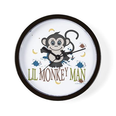 Lil Monkey Man Wall Clock