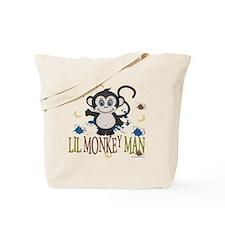 Lil Monkey Man Tote Bag