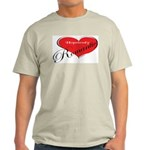 Hopelessly Romantic Ash Grey T-Shirt