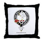 Cranstoun Clan Crest Badge Throw Pillow
