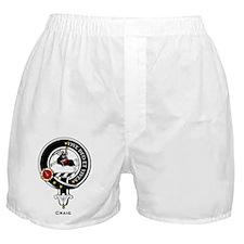 Craig Clan Crest Badge Boxer Shorts