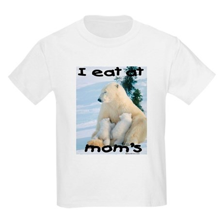 Eat at Mom's Kids Light T-Shirt