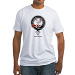 Cockburn Clan Crest Badge Fitted T-Shirt
