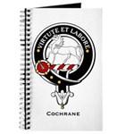 Cochrane Clan Crest Badge Journal
