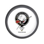 Cochrane Clan Crest Badge Wall Clock