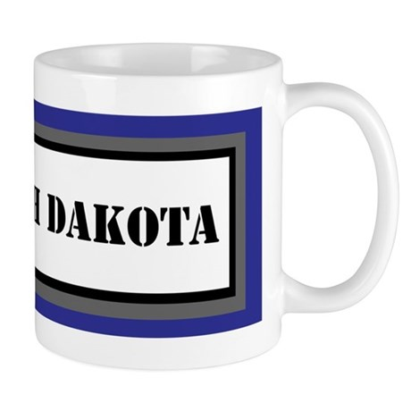 USS North Dakota Mug