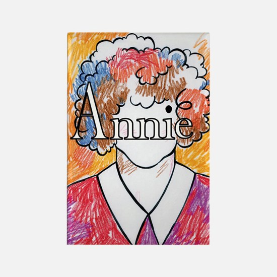 StDT Annie Rectangle Magnet (10 pack)