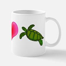 Peace Love Sea Turtles Mug