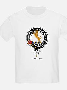 Chattan Clan Crest Badge Kids T-Shirt