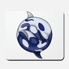 Orca Yin Yang Mousepad