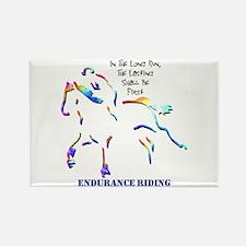 Endurance Riding Rectangle Magnet