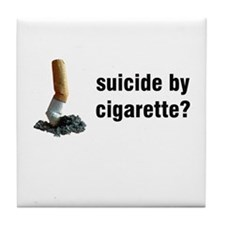 Anti Smoking Tile Coaster