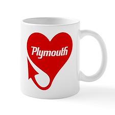 "Plymouth Heart - ""We'll Win You Over"" Mug"