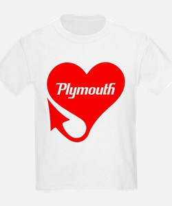 "Plymouth Heart - ""We'll Win You Over"" T-Shirt"