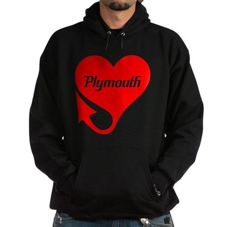 """Plymouth Heart - """"We'll Win You Over"""" Hoodie (dark"""