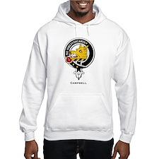 Campbell Clan Crest Badge Hoodie Sweatshirt